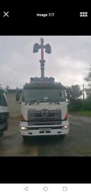 Hino grab lorry 8 wheeler