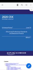 CFA Level 3 Schweser 2020 Complete Package
