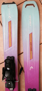 018 153cm Head Great Joy WMN All Mountain Powder skis - New