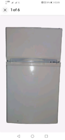 Curry's essentials fridge freezer used in good condition white