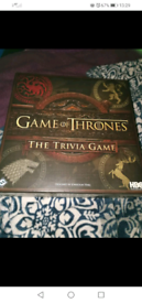 Game of thrones trivia board game