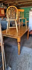 Table and chairs...