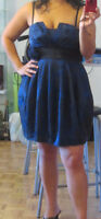 Robe bleu/Blue dress
