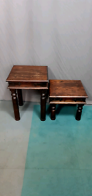 Coffee/lamp tables-solid indian rosewood