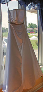 Silk Bridal Gown - Size 18