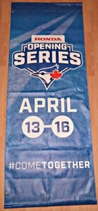 2015 BLUE JAYS OPENING DAY/SERIES BANNER ROGERS CENTER vs RAYS
