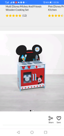 Brand new Mickey Mouse wooden kitchen