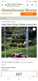 Greenhouse Louvre Window