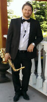 Saxophone player available for events