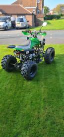 Big 125.cc quad