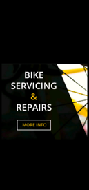 Bike Maintenance - Servicing and Repairs all work undertaken