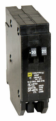 Square D Schneider-electric 120240 Amps Plug In Single Pole Circuit Breaker