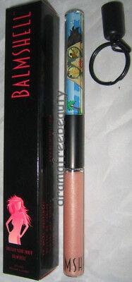 Sheer Eye Shimmer ( Balmshell Lipgloss *BEACH PATROL* Sheer Nude Shimmer w/Float Art Eye Candy BNIB)