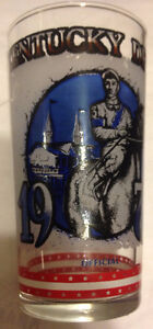 1976 (official) centennial Kentucky Derby glass Gatineau Ottawa / Gatineau Area image 1