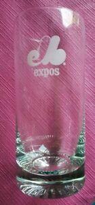 VINTAGE - MONTREAL EXPOS: 4 HI-BALL GLASSES / VERRES