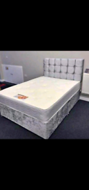 Divan all size bed and mattress available
