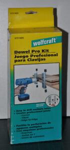 Wolfcraft DOWEL PRO KIT, new, Wolfcraft Doweling Jig 3751405