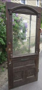 Wanted...antique, vintage wood front doors