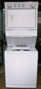 Whirlpool Large Stacking Washer Dryer, 1 year  warranty