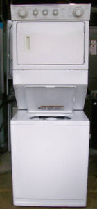 Whirlpool Large Capacity Stacking Washer Dryer, 1 year warranty