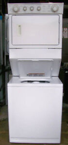 Whirlpool Large Stacking Laundry, 1 year warranty