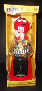 2 M&M Dispensers (sold as pair)