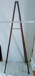 c. 1970 ARTIST Easel INDUSTRIAL Drafting Paiting Antique