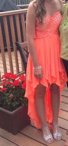 Beautiful High-Low Graduation Dress