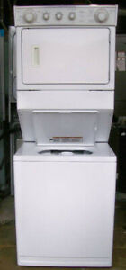 Whirlpool Large Stacking Washer Dryer, 12 month warranty