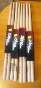 New Remo heads and Zildjian Dave Grohl sticks.