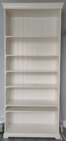 Solid White Bookcase/Shelving unit