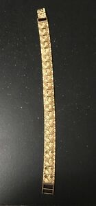 GOLD NUGGET STYLE BRACELET , MUST SEE PICS !!!