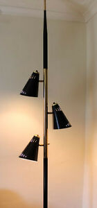 Vintage 1960's Tension Pole Lamp