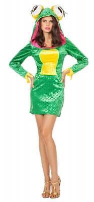 Froschkönigin Kleid Kostüm Froschkönig Frosch Damen Froschkleid - Könige Kostüme