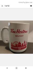 WANTED Tim Horton Belfast Mug