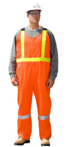 Traffic Safety Bib Overall - AGO# PC-140 Size : L