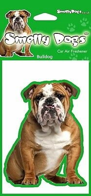 Bulldog Themed Fragrant Air Freshener