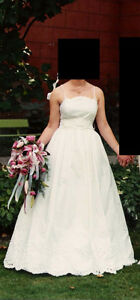 Wedding Dress: French Designer Model London Ontario image 1