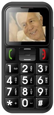 Handy Seniorenhandy Grosstastentelefon Telefon vertragsfrei Dual SIM W60