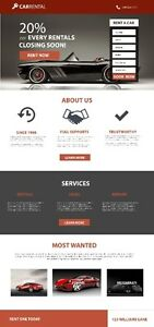 Eye Catching Mobile Friendly Website with 1year Free Hosting
