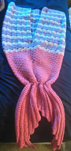 Adult Mermaid Tail Blanket $55