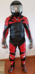 TEKNIC Schoeller 2 Piece Leather Motorcycle Leathers & Boots OBO