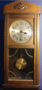 American Swiss Cape Town Antique Wall Clock