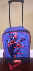 Spiderman Rolling Backpack/Carry On for School or Trips