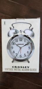 Vintage metal alarm clock *BRAND NEW*