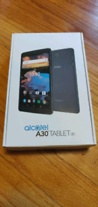 """Alcatel A30 8"""" tablet brand new in box unopened."""