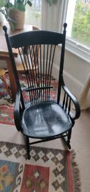 Black rocking chair/ nursing chair