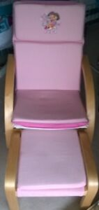 Dora reclining chair with foot rest