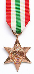 Real Antique! The Italy Star 1943-1945