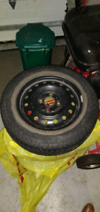 """Winter Tires with Rims 15"""" 4 bolt"""